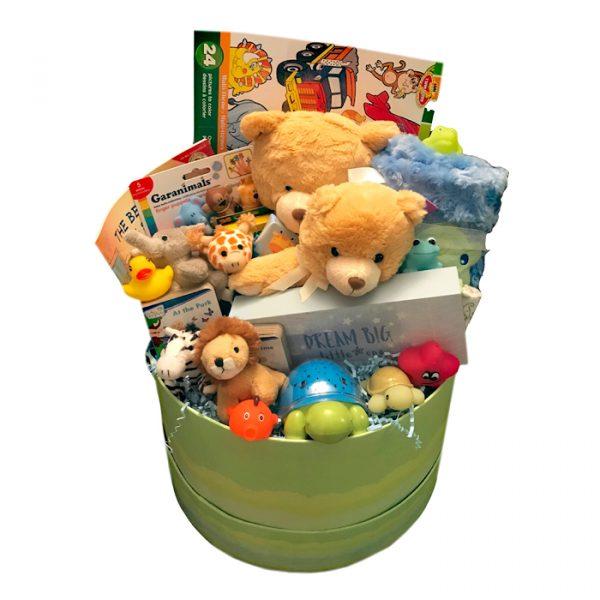 Green Round Teddy Bears