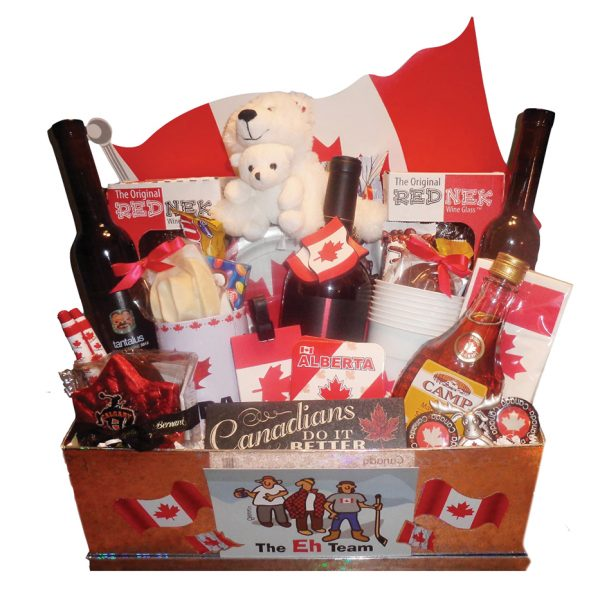 canada day gift basket