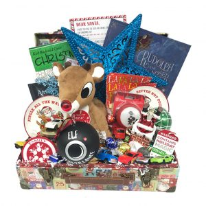 rudolph christmas basket time is money