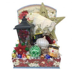 lantern gold christmas basket time is money